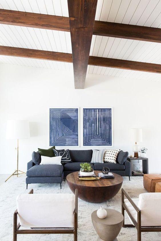 decoración sofá